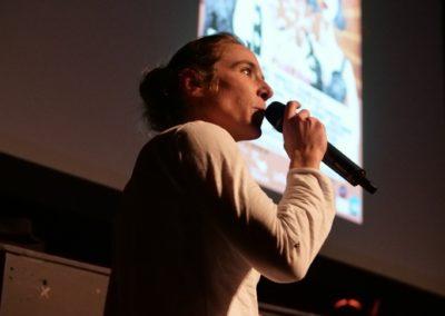 """Anne-Sophie Poirot, co-fondatrice du Faltazi Festival. Réalisatrice de """"La Belle Endormie"""""""