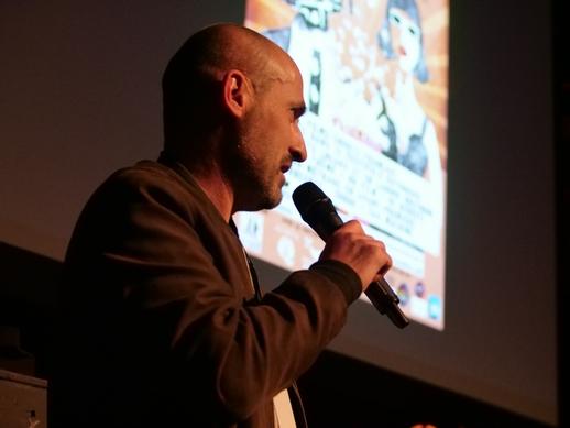 Frédéric Fonseca, créateur et  co-fondateur du Faltazi Festival