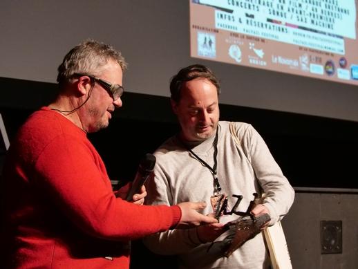"""Remise Prix Public par Marc Morvan à """"Lune de Miel dans l'Ouest"""" de Laurent Ardoint"""
